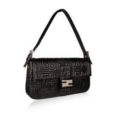 #LovesBlackWhite  Fendi handbag