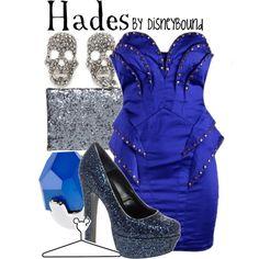Disneybound: Hades (Hercules)