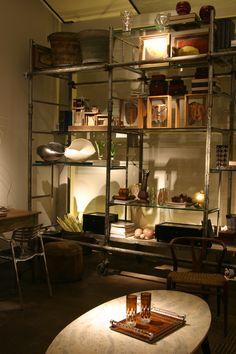 Biblioteca Industrial  Decoracion vintage Vintage Decoration Studio