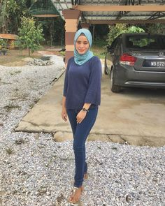 Hijab Jeans, Hijab Fashion, Street Hijab Fashion