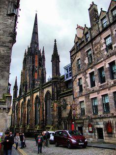 The Hub, The Witchery, The Royal Mile, Edinburgh, 2012 by photphobia, via Flickr #Edinburgh #Scotland