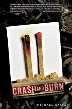 """Crash and Burn, by Michael Hassan.  """"What you know: On April 21, 2008, Steven """"Crash"""" Crashinsky saved more than a thousand people when he stopped his classmate David Burnett from taking their high school hostage armed with assault weapons and high-powered explosives.  What you don't know: the words that burn whispered to crash right as the siege was ending, a secret that crash has never spoken of. Until now.""""  #YA"""