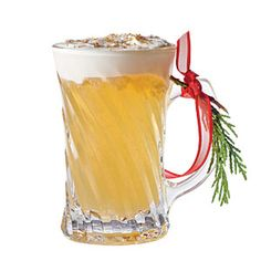 29 Spirited Holiday Cocktails | Hot Buttered Rye | SouthernLiving.com Whisky Cocktail, Cocktail Drinks, Fun Drinks, Yummy Drinks, Cocktail Recipes, Beverages, Signature Cocktail, Drink Recipes, Cocktail List