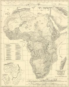 #map  #Africa