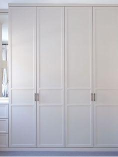 Built In Wardrobe Doors, Closet Doors, Bedroom Wardrobe, Wardrobe Closet, Bedroom Cupboards, Fitted Wardrobes, Front Rooms, Bedroom Color Schemes, Condo Living