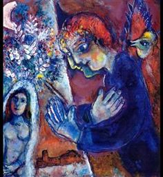 Artist at Easel - Marc Chagall