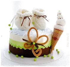 Gateau de couches Pistache cake