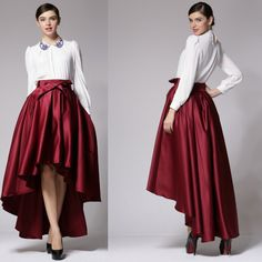 Find More Skirts Information about BIG BRAND QUALITY 2014 new women ball gown skirt deisgual high waist bowknot ankle length skirt short front long back,High Quality brand gym,China brand scarf Suppliers, Cheap skirt yellow from Prinsexy Run Way Brand Fashion Station on Aliexpress.com