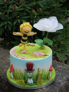 Maya the Bee - cake by Derika