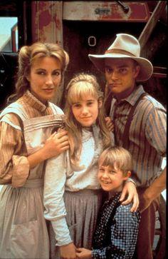 (Dr. Quinn, Matthew, Colleen, Brian).  The cast of Dr. Quinn, Medicine Woman.  (1993-1998).