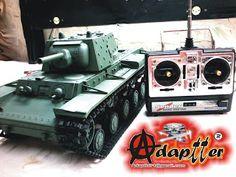 adaptter1: Tanque de Batalha Russo_RC 1/16_Battle Tank Russia...