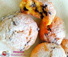 portakalli damla cikolatali kurabiye