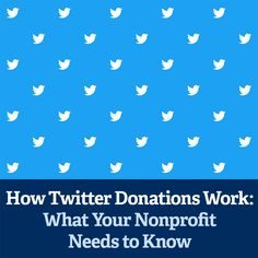 Like how only a select few nonprofits had access to Facebook's early launch of their Facebook Fundraising Tools, only a select few nonprofits currently have access to Twitter Donations.