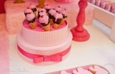 Barbie Ice Cream Shop 4th Birthday Party