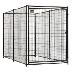 Outside Dog Kennel With Sleek And Modern Style Handsome