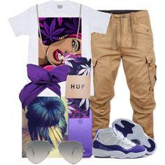 • purple •, created by xxrhiannakxx on Polyvore
