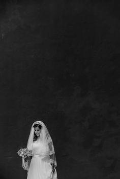 Weddingdress & veil by...INÊS PIMENTEL #fotografia de Matilde Berk