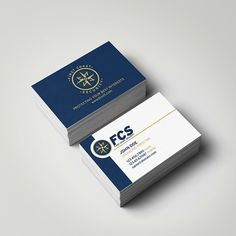 Business cards for First Coast Security. Designed by @seankinberger