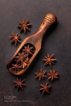 http://500px.com/photo/185250815 Star anise spice by karandaev -Star anise spice on old stone table. Christmas cooking. Top view. Tags: macrochristmasbackgroundbrownnaturaltextureblackhealthyfoodstonetopstarstickseedrustwoodentablerusticxmasdrycookingherbspiceaboveculinaryaromaaromaticflavorcondimentingredientspicesmulled winespicyaniseslateseasoning