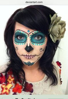 Day of the Dead Makeup | Day of Dead Halloween Costumes