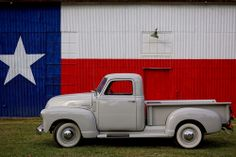 1952 Chevy Pick-up Truck || Vintage Chevrolet | Texas flag