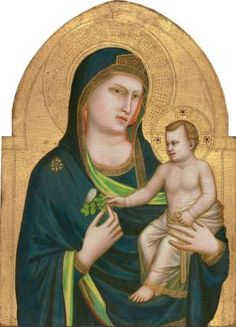 Giotto - Madonna con il Bambino - 1320–1325 - Washington, National Gallery of Art, Samuel H. Kress Collection