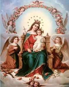 Catholic Art, Catholic Saints, Religious Art, Catholic Prayers, Religious Icons, Blessed Mother Mary, Blessed Virgin Mary, Queen Mother, Jesus Christus