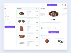 Hello everybody!  Today I would like to share with you a little slice of this design concept. Welcome to Salever. - Web application that you can use for purchases and sale goods.   Follow us on Twi...