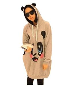 - This hoodie is pullover and casual. It features hooded neckline with cute ears, self-tie drawstring, two side pockets and cartoon bear face on front makes it ...