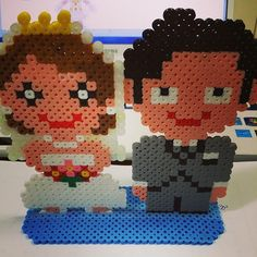 Wedding perler beads by rupina99