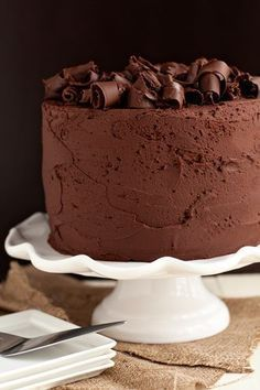 Chocolate Stout Cake - Watch quantity. Huge recipe. Three tier 8in cake or just about 3 dozen cupcakes. Do butter/stout/cocoa in sauce pan first and let cool while assembling the rest of the ingredients. Needs time to chill out.