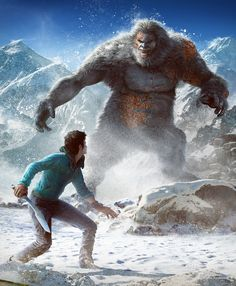 ArtStation - Far Cry 4 :: Yeti encounter, Eve Berthelette