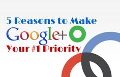 5 Reasons to Make Google+ Your #1 Priority