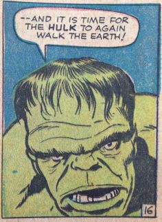 Hulk walk the earth again panel