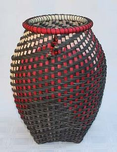 Olympia, woven basket by Linda Scherz Allen (copyright Linda Scherz Allen)