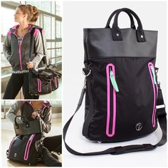 get back to toe-pointing and body-stretching with the Forward Fold Bag Sporty Outfits, Athletic Outfits, Cute Outfits, Athletic Girls, Athletic Wear, Dance Outfits, Girl Outfits, Workout Attire, Dance Fashion