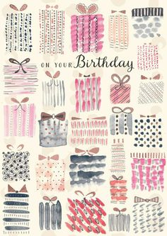 Happy Birthday Quotes, Happy Birthday Images, Happy Birthday Greetings, It's Your Birthday, Birthday Messages, Fabulous Birthday, Watercolor Birthday Cards, Karten Diy, Happy Wishes
