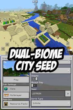 Minecraft PE City Seed:LISTRISK
