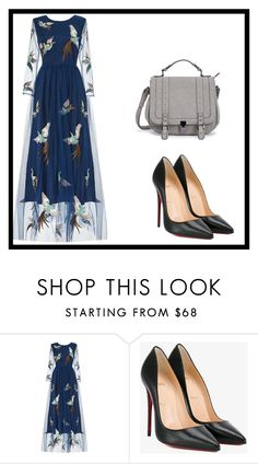 """""""Untitled #1"""" by dzemila-c ❤ liked on Polyvore featuring Christian Louboutin"""