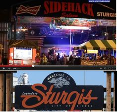 Sidehack Saloon in Sturgis --VIDEO Preview Images of the 2013 Sturgis Rally  ------- **WATCH 6 VIDEOS and Get Info on the 2014 Sturgis Biker Rally at http://www.lightningcustoms.com/sturgis-rally-videos.html -------  Note: we will be posting 2014 videos as soon as we get them --------- #sturgis #sturgisrally #sturgisbikerrally