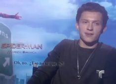 """these guys are laughing at me"" he said that like such a little kid and I love it Marvel Funny, Marvel Movies, Marvel Avengers, Siper Man, Tom Holland Zendaya, Tom Holand, Tom Holland Peter Parker, Tommy Boy, Men's Toms"