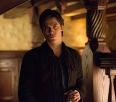 """The Vampire Diaries """"Bring It On"""" -- Pictured: Ian Somerhalder as Damon Salvatore -- Image Number: VD416b_0130.jpg """" Photo: Bob Mahoney/The CW -- © 2013 The CW Network, LLC. All rights reserved."""