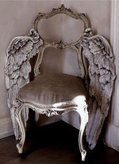 Wish I had this Winged Chair as a photography prop... ~~ Houston Foodlovers Book Club
