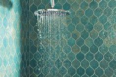 Spa fabulous tiles for the bathroom.