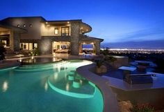 Huge House with Pool..... Want it!