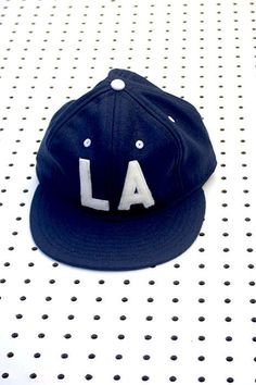 LA felt baseball cap – Clothing and Home Goods in Los Angeles - Virgil Normal