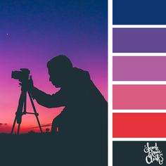 Red and purple color scheme | 25 color palettes inspired by the PANTONE color trend predictions for Spring 2018 - Use these color schemes as inspiration for your next colorful project! Check out more color schemes at www.sarahrenaeclark.com #color #colorpalette