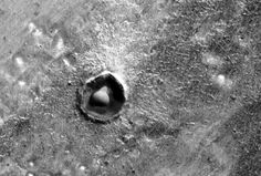 Dome on Mars, away. If it a natural structure it is very interesting. Could wind going around and around that crater whip up the moist soil into that dome style appearance?