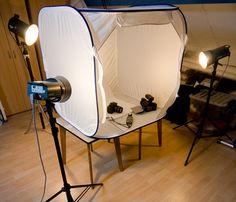 Product - studio setup
