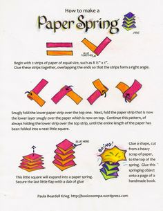Here is the How-to-Make-a-Paper-Spring hand-out that goes along with the photos in the previous post. Not only is this little structure delightfuland satisfying for children to make, but I have a...